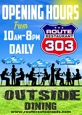 Route Restaurant Opening Hours